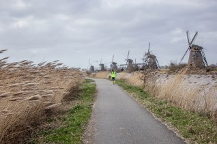 Jogging in Kinderdijk 2
