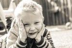 Blond little human no 1