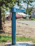 Old water pump - laura dragulin -photostories