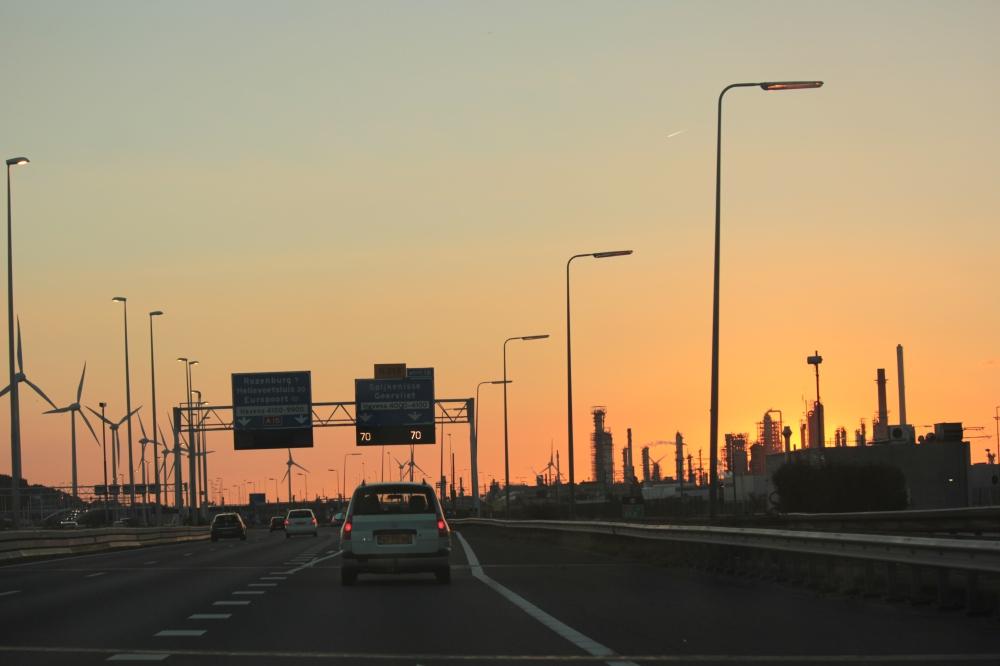 Snelweg Zuid Holland