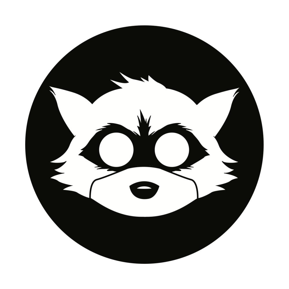 Raccoon Brand Logo